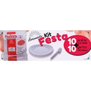 PRAFESTA KIT FESTA PRATO/GARFO BR C/10X10