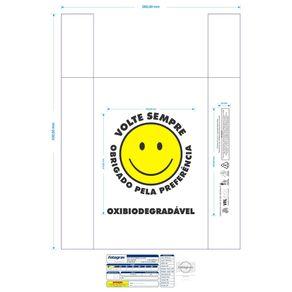 SACOLA PLAST BR MIL IMP V.SEMPRE 38X50 C/1000