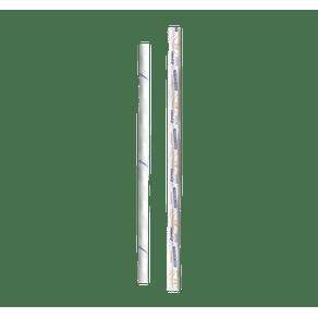 STRAWPLAST CANUDO PAPEL (6MMX20) BR C/10X100